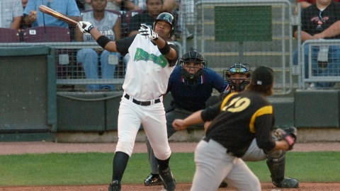 Juan Francisco with the Dragons in 2007.
