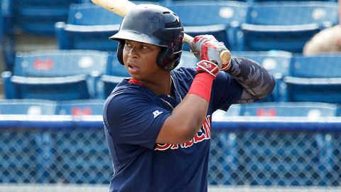 Rafael Devers has been a Red Sox Organization All-Star in each of his three Minor League seasons.