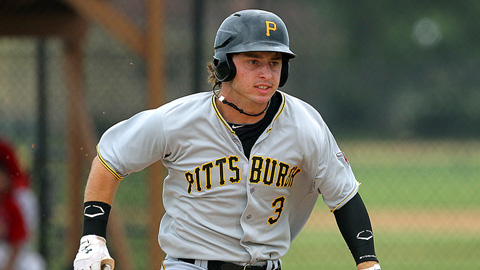 Wyatt Mathisen batted .347 with 16 RBIs for the Gulf Coast Pirates.