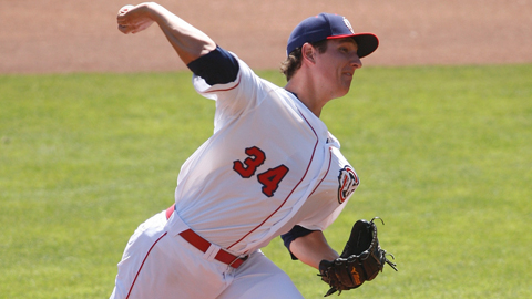 Asher Wojciechowski was promoted to Triple-A in May.