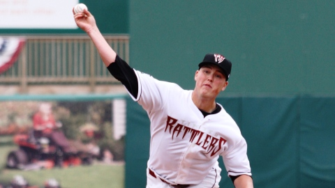 Jimmy Nelson was one of nine Timber Rattlers to make his MLB debut in 2013.