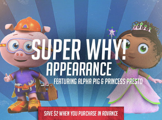 Super Why! Appearance