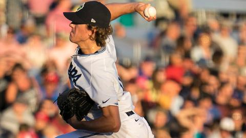 Connor Grey struck out just one batter in his first two starts for the Rawhide.