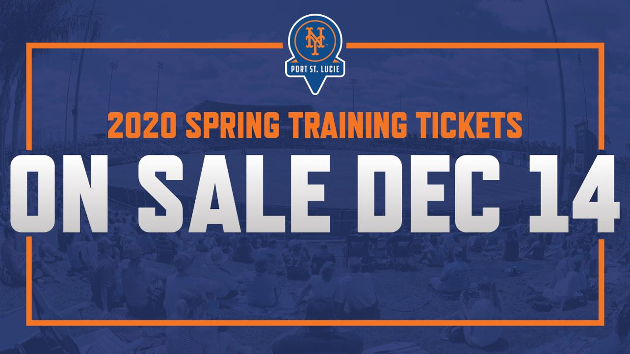 Mets Spring Training 2020.St Lucie Mets Milb Com