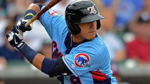 Javier Baez became the fifth Minor Leaguer to surpass the 100-RBI mark.