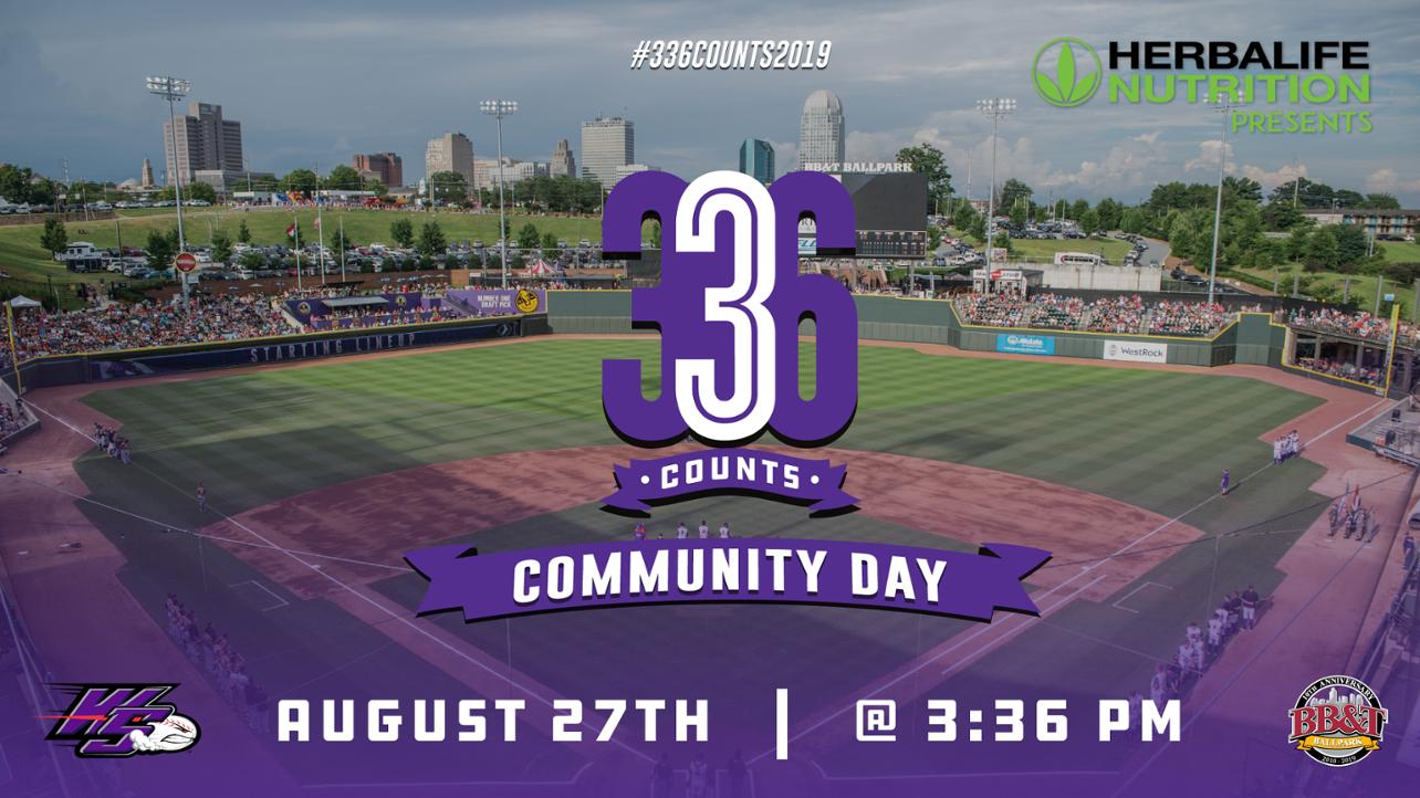 Dash to host 336 Counts Community Day on August 27!