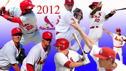 The Palm Beach Cardinals finished the 2012 season with a 64-72 record.