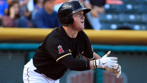 Kole Calhoun is hitting .465 with 11 RBIs over his last 10 games.