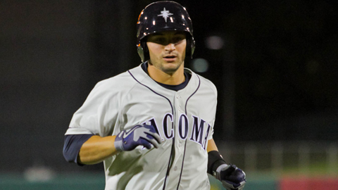 Mike Zunino is tied for second in the PCL with 41 RBIs.