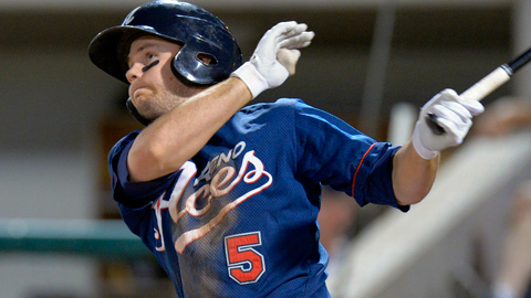 Chris Owings was the second Reno Aces player to hit three homers in a game.