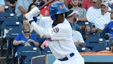 Twelve of Jorge Mateo's 30 career Minor League home runs came in 2017.