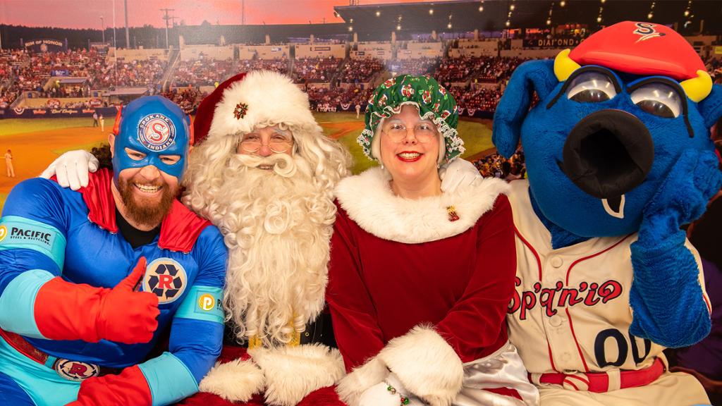Santa Claus is Coming to Avista Stadium!