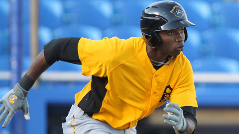 Gregory Polanco ranked second in the Florida State League with 24 steals.