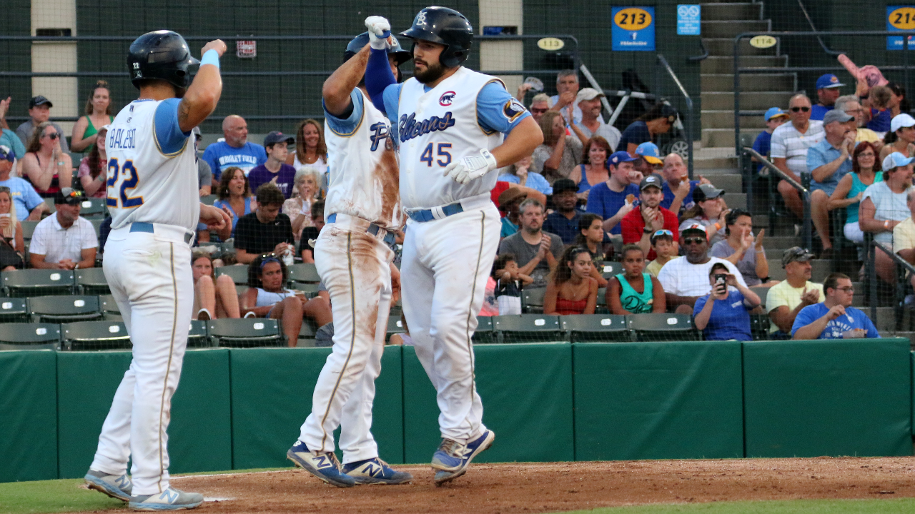 Payne's two homers lead Birds to victory over Potomac in