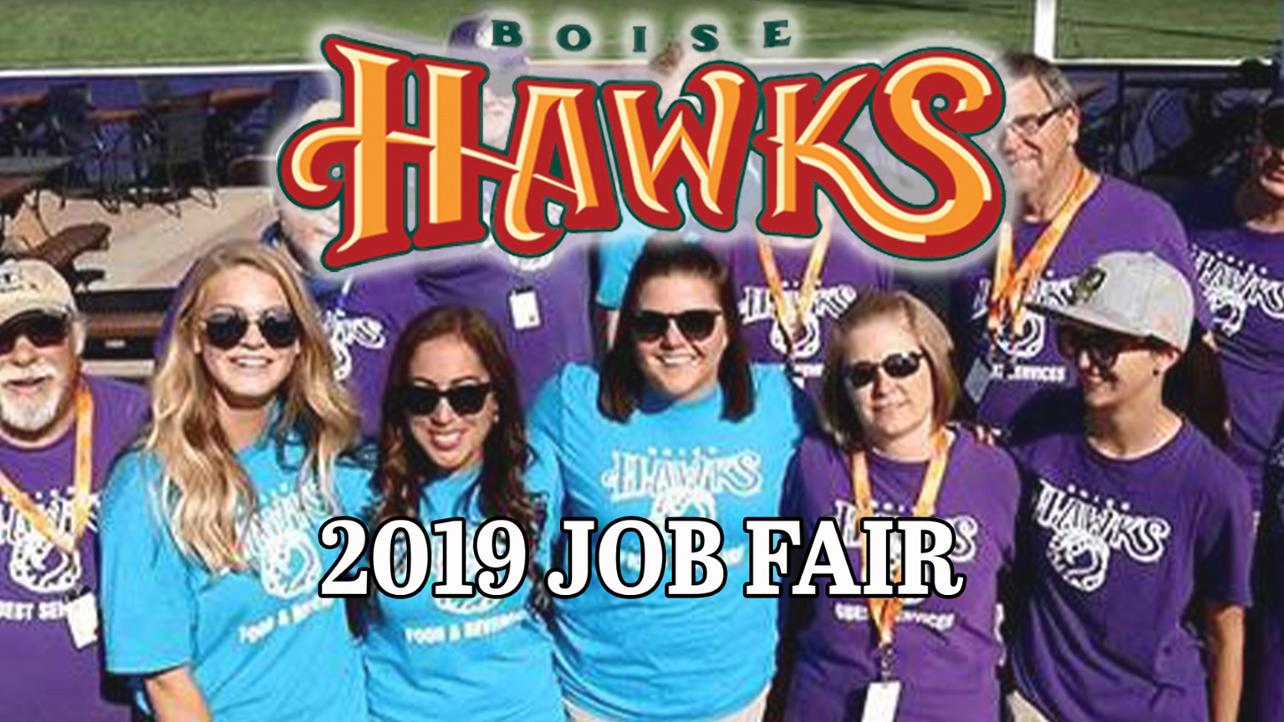 Boise Hawks 2019 Seasonal Job Fair This Saturday