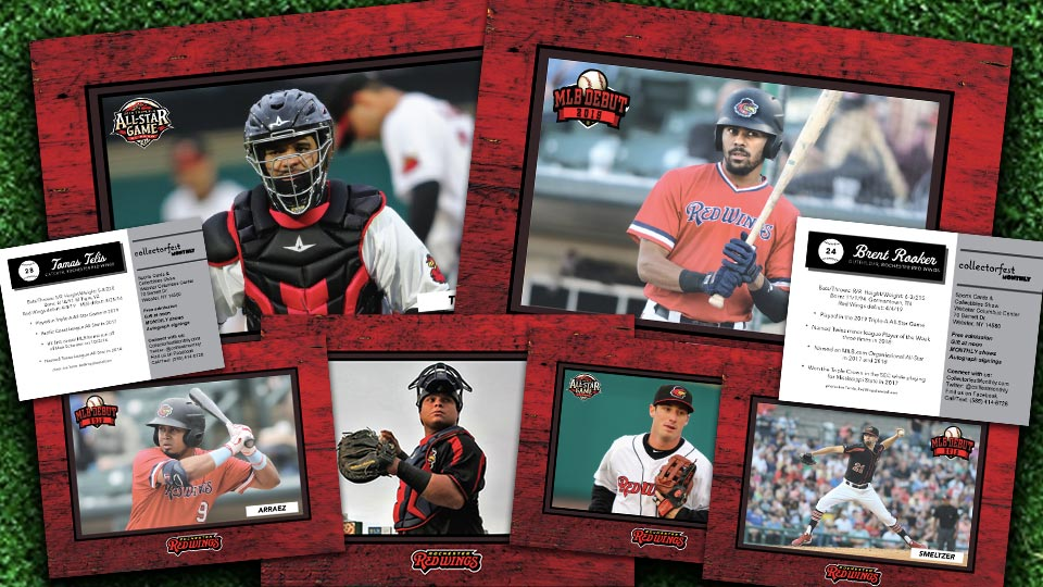 Update Card Set Giveaway Aug 31 Rochester Red Wings News