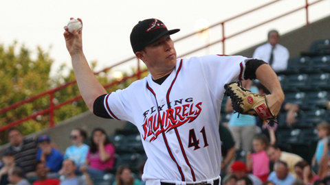 Craig Westcott pitcher 6.2 innings and homered on Monday in Reading