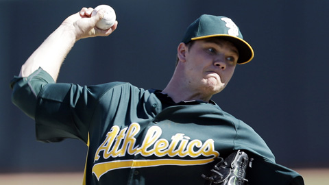 Sonny Gray had a 4.14 ERA in 26 starts with Midland in 2012.