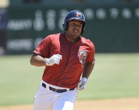 Brandon Meredith went 3-for-5 with a home run, double and two RBIs on Wednesday.