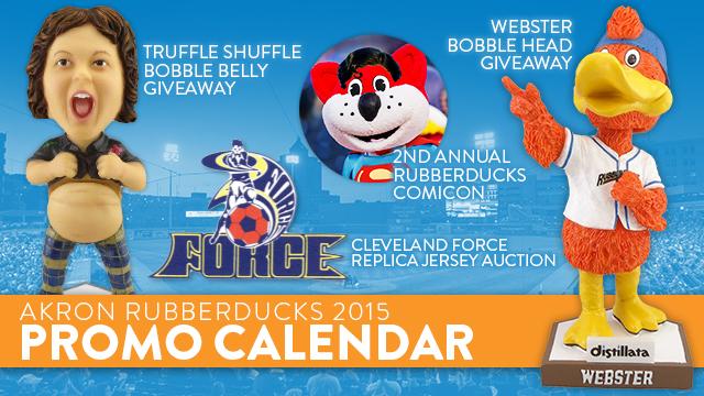 Rubberducks Announce 2015 Promo Schedule Rubberducks