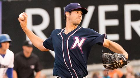 Corey Ray has walked nine and struck out 15 over 20 innings in four starts for the Naturals this season.