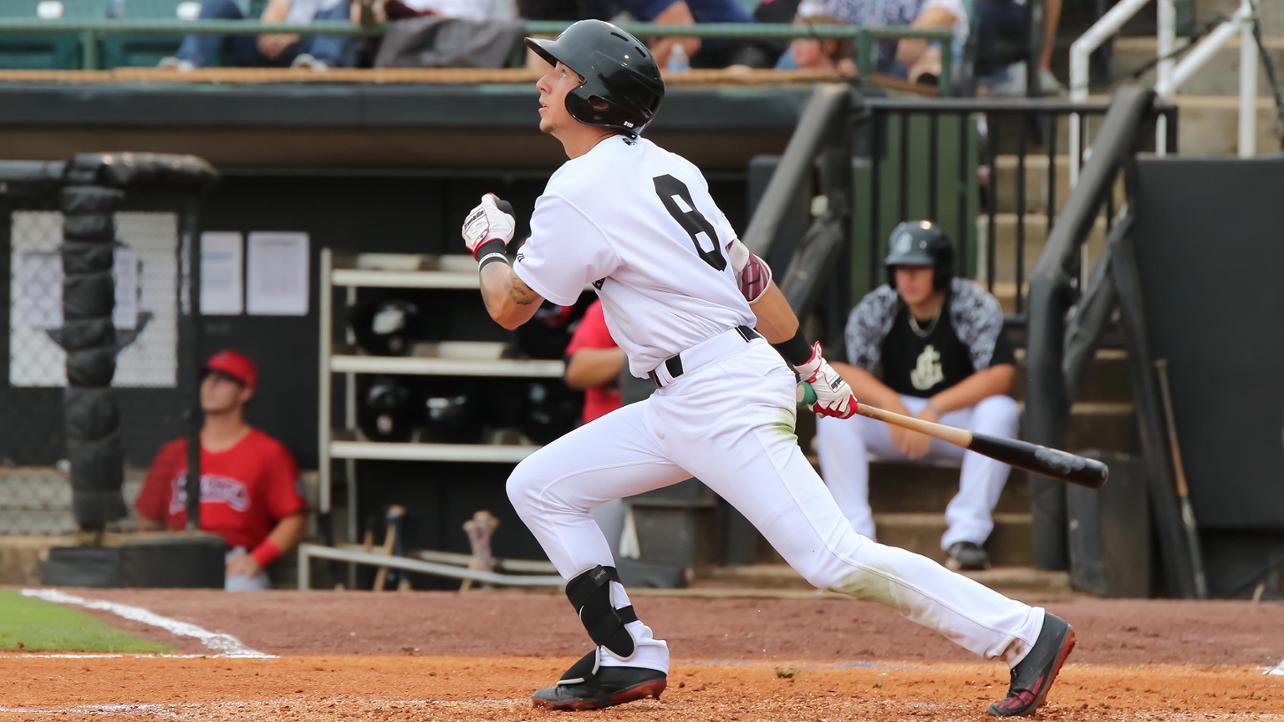 Cribbs leads six-run ninth-inning rally in 9-6 win
