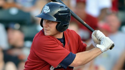 Lehigh Valley's Cody Asche is hitting .291 in 62 games since April 16.