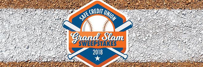 SAFE Credit Union Grand Slam Sweepstakes | Sacramento River Cats Content