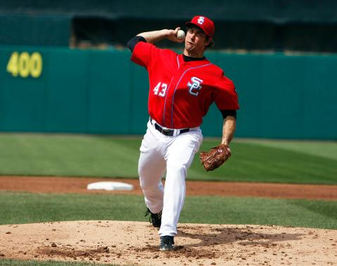 Ross Ohlendorf allowed just four base runners in seven-and-one-third innings on Saturday.