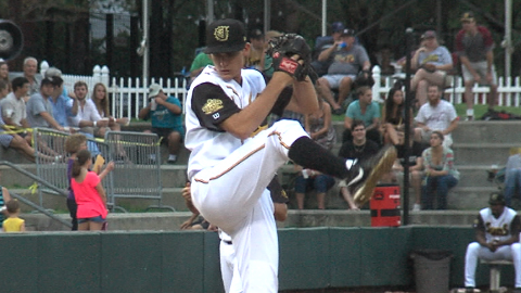 LHP Andrew Heaney was named the Top Miami Marlins prospect entering the 2014 season.