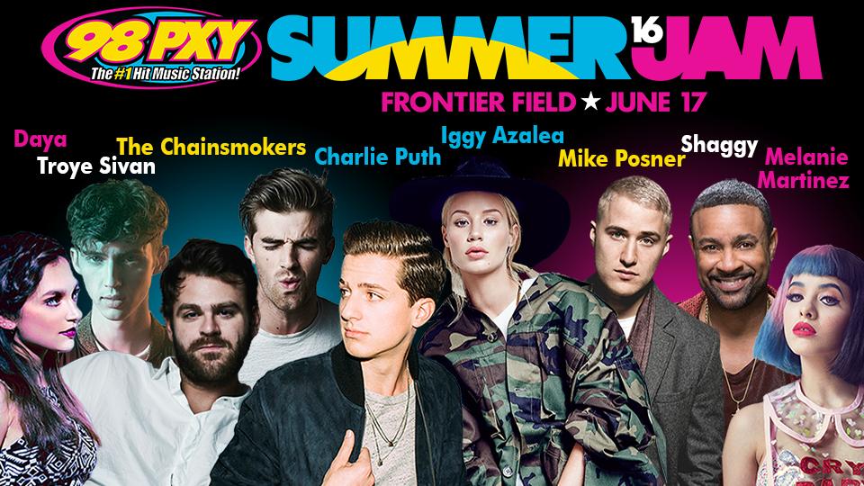 98pxy Summer Jam 2020.98pxy Summer Jam June 17 At Frontier Field Rochester Red