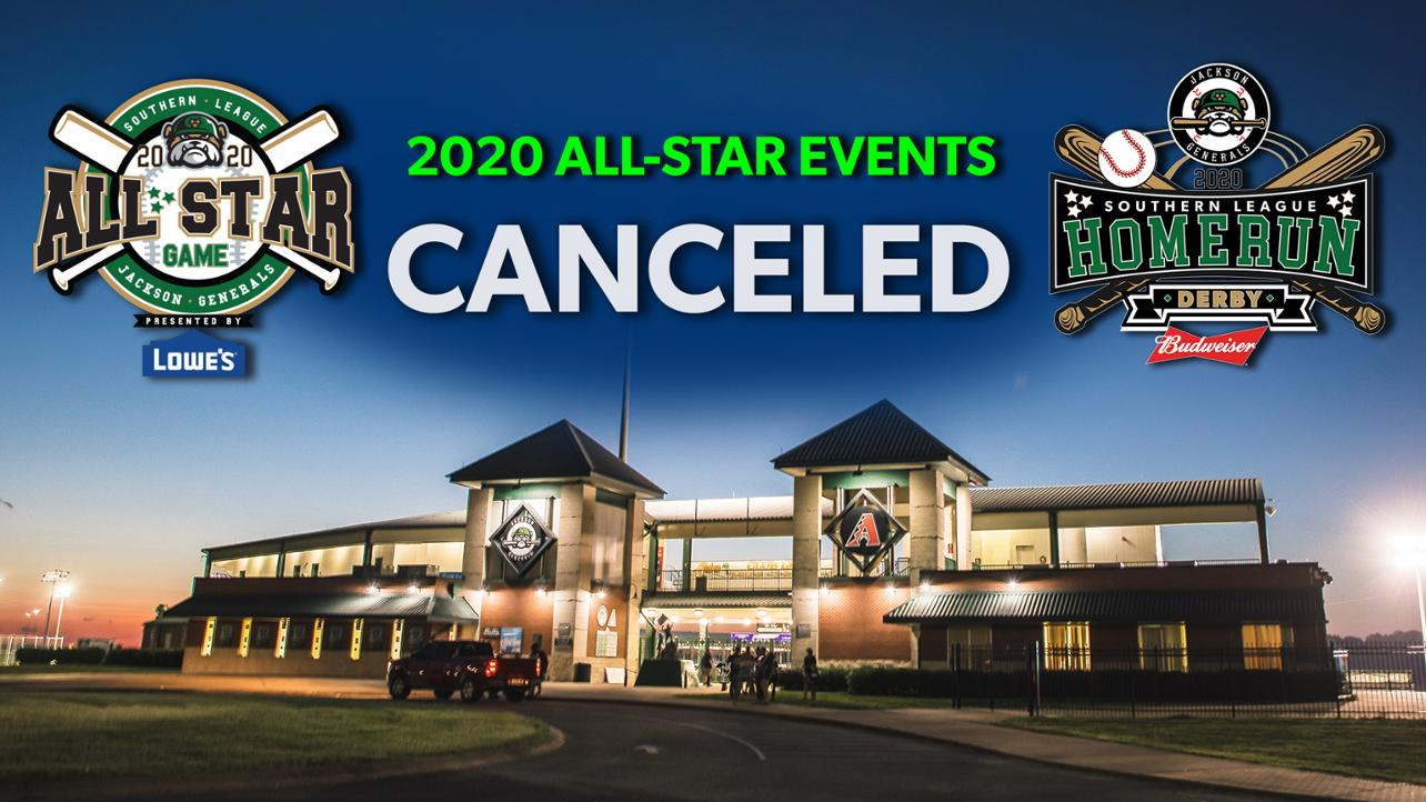 Southern League Announces Cancelation of All-Star Events in Jackson