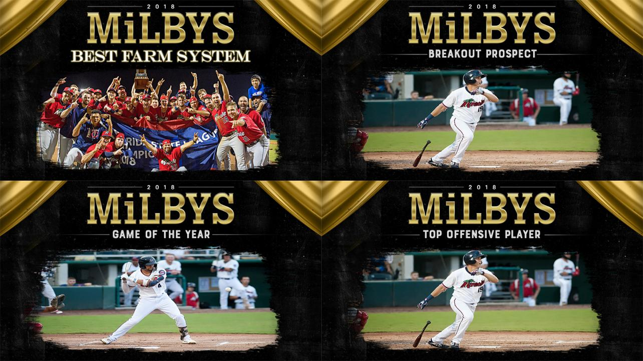 Fort Myers Miracle Nominated for 4 MILBY Awards