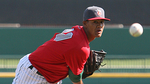 Joe Ross was limited to 54 2/3 innings in 2012 because of a shoulder injury.