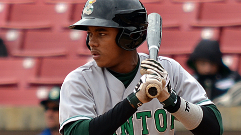 Clinton's Ketel Marte collected an astounding 18 hits over six games last week.