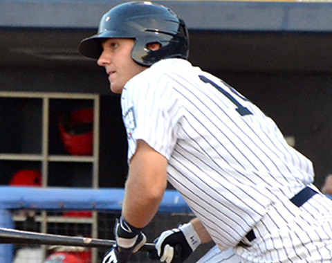 Eric Jagielo hit a walkoff home run in the 11th inning to lift the Yankees to a 3-2 victory over Tri-City on Sunday.
