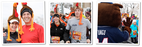 The 2014 Fisher Cats Thanksgiving 5K