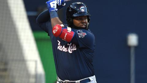 Vladimir Guerrero Jr. is batting .353 with eight extra-base hits and 22 RBIs this season.
