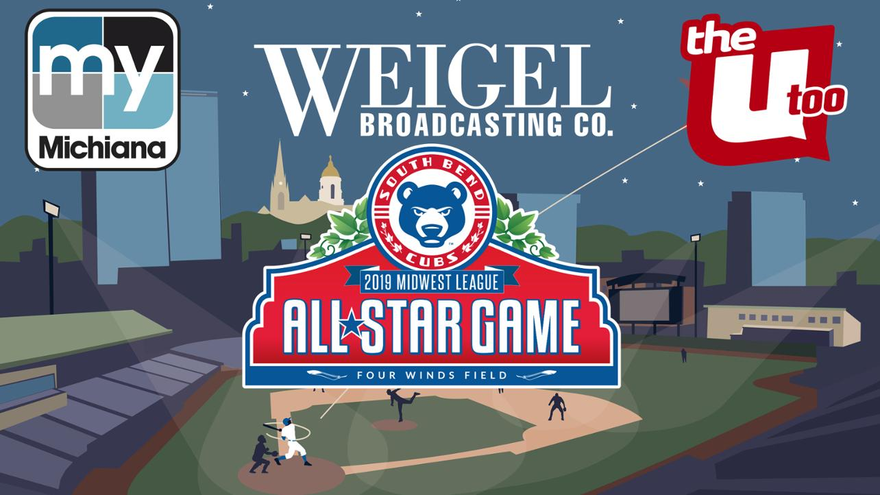 Midwest League All-Star Game to Air in Chicago and Michiana