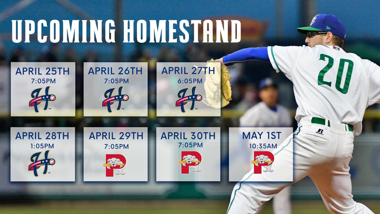 April 25 Homestand