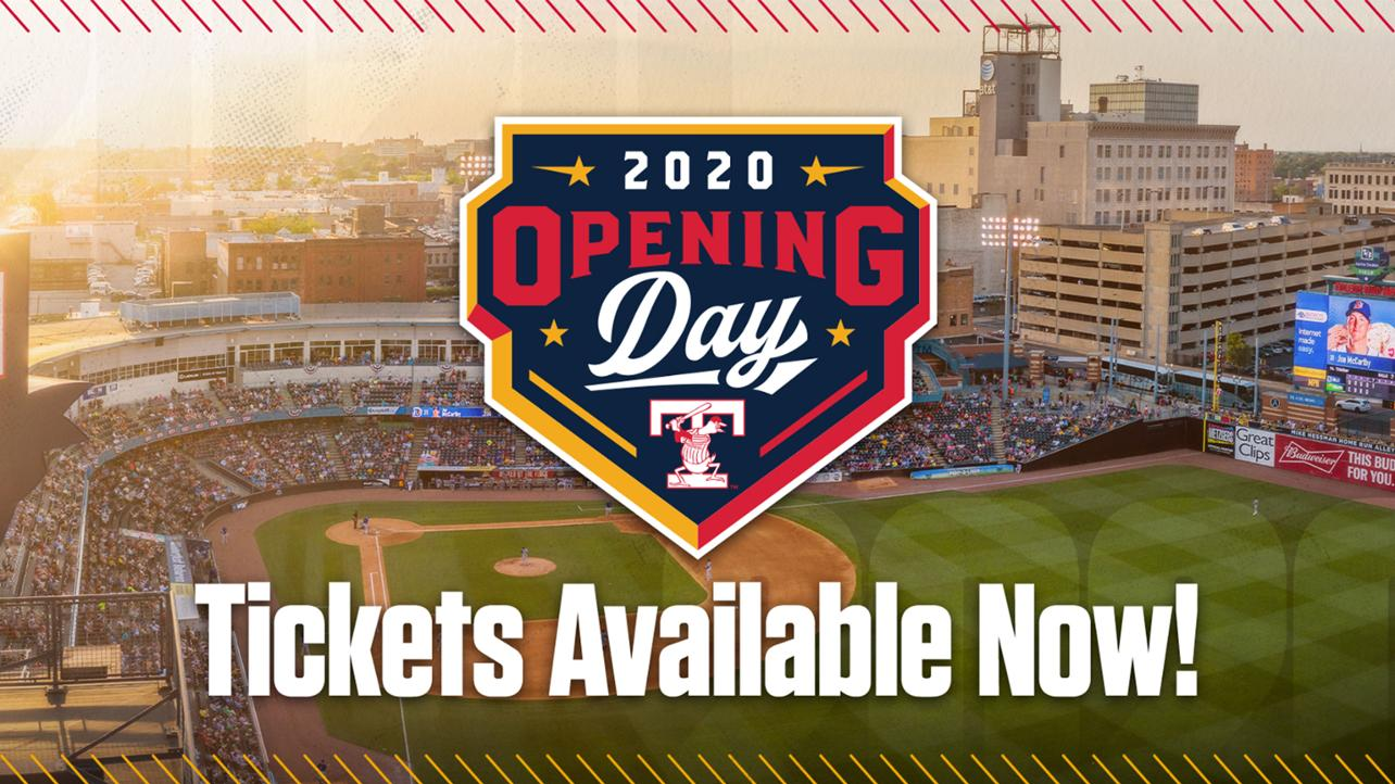 Opening Day Tickets Available Now