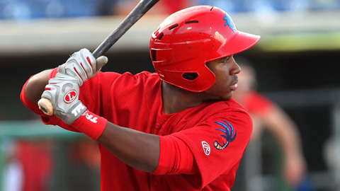 Maikel Franco is slugging .557 in 38 games for the Threshers.