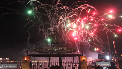 Fireworks Shows will follow 17 games this season, highlighting the Drillers' 2013 promotions lineup.