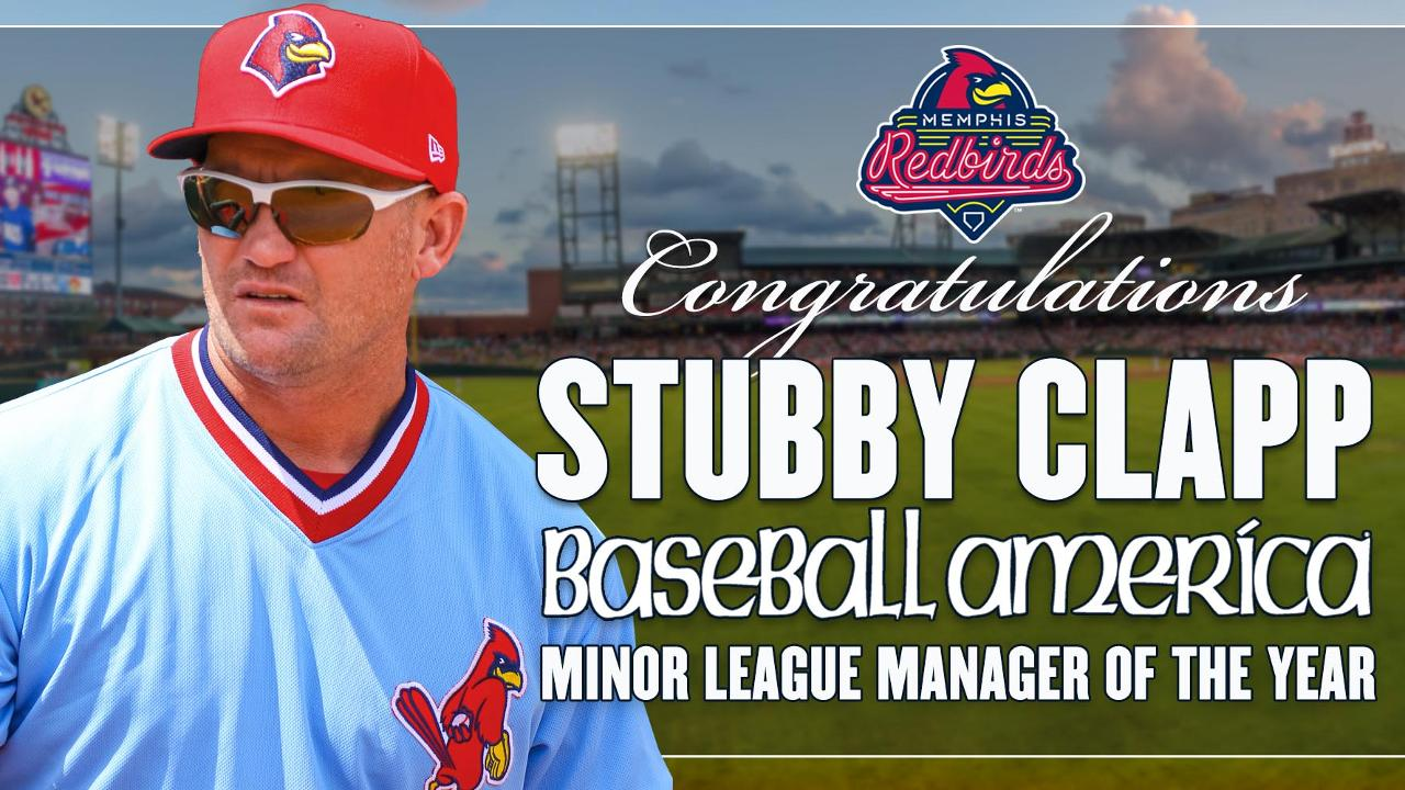 Clapp Becomes First Cardinals Minor League Manager to Earn Prestigious Honor 1a5bd5f74