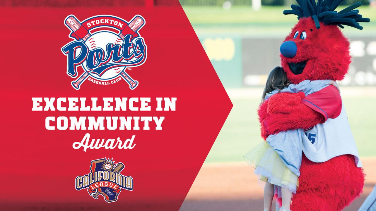 Ports honored with 2018 Excellence in Community Award