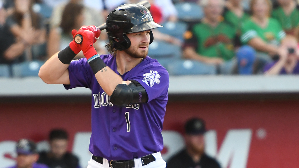 Rockies top prospect Rodgers to make debut
