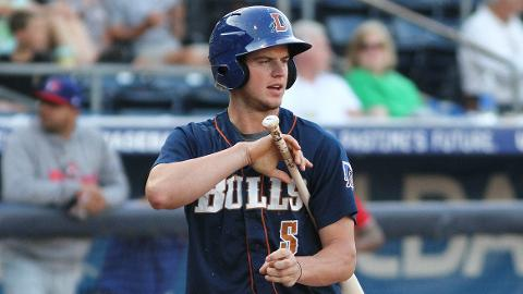 Rays top prospect Wil Myers drove in a run in all but one game last week.
