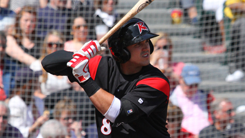 Adam Duvall hit his 16th home run of the season on Tuesday in Reading