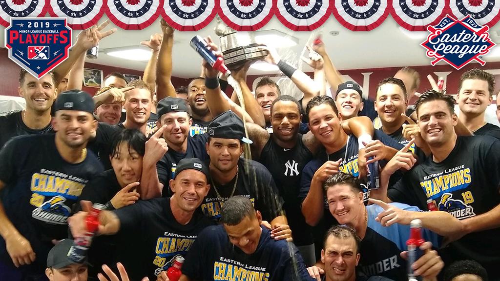 And the Thunder rolls: Trenton wins EL championship