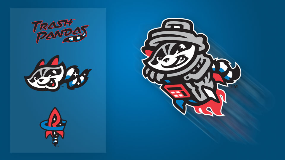 4bf86944ff9 Rocket Raccoon  Trash Pandas unveil logos